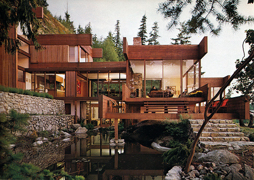 Arthur erickson pacific northwest modern master build blog for Pacific northwest homes