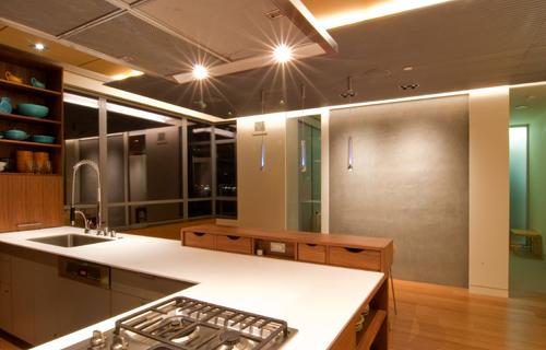BUILD LLC PH03 Dining Room Night 02