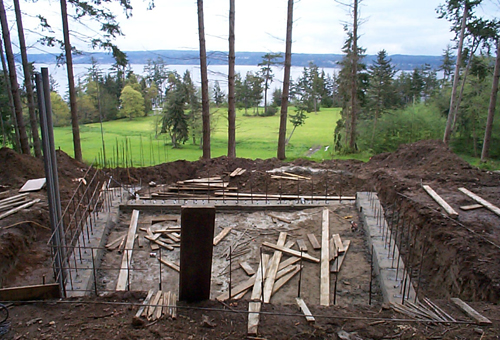 Pre fab houses don t work build blog for House foundation on slope