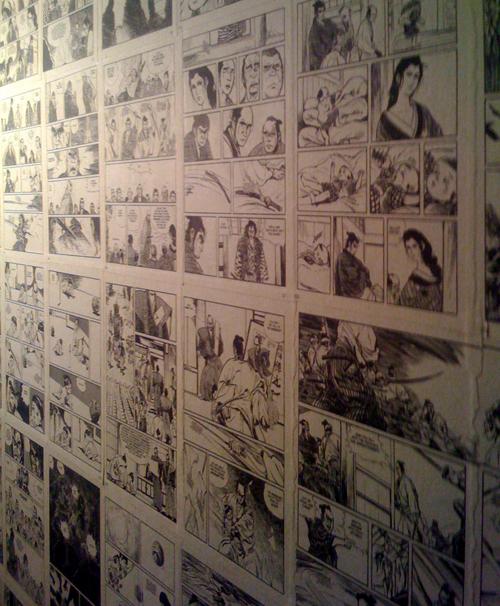 BUILDblog Comic Book Wallpaper at Kushibar Seattle