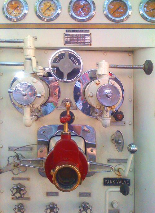 BUILDblog Fire Engine Controls