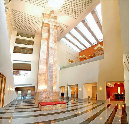 Camino Real lobby by booked
