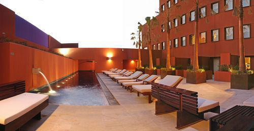 Camino Real pool by booked