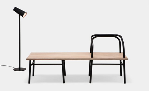 Matter Matters table bench chair