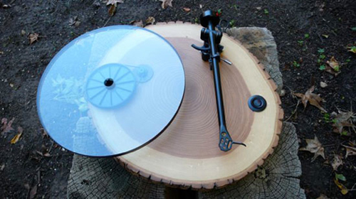 PSFK Audiowood-Turntables
