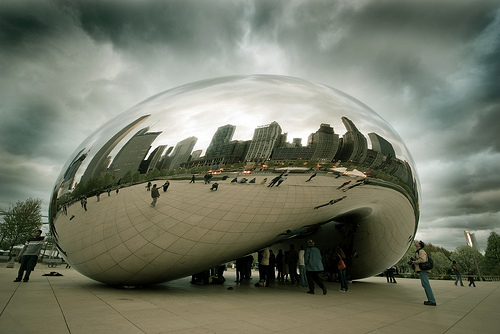 Cloudgate by Fixed Image