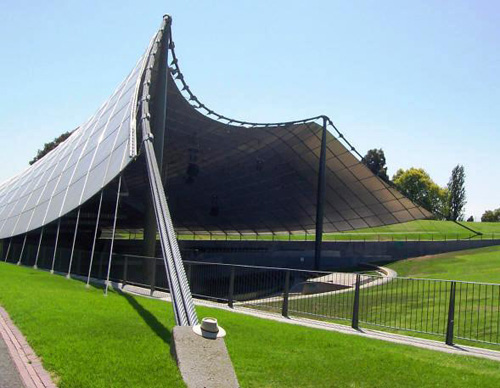 The Myer Music Bowl was commissioned by businessman and philanthropist,
