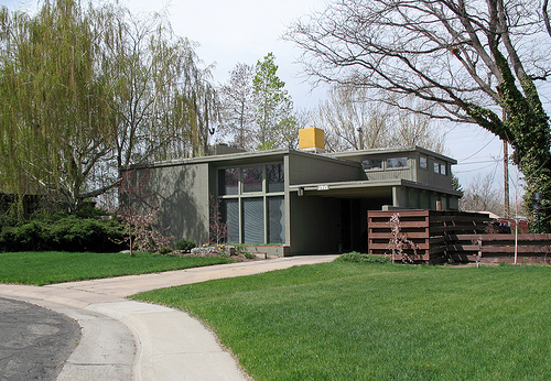 Mid century modern communities livemodern your best for Mid century modern homes denver