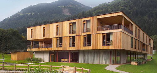 Elderly housing design in europe livemodern your best Nursing home architecture