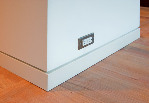 3 modern base details build blog - Contemporary trim moulding ...