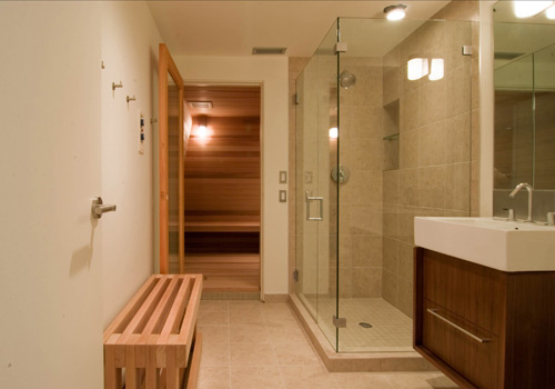 sauna design construction build blog