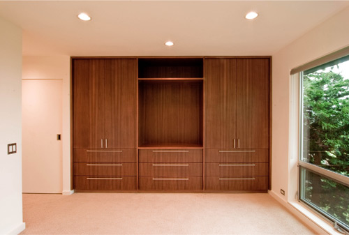 A home for the 21st century part 2 the interior build blog for Design of master bedroom cabinet