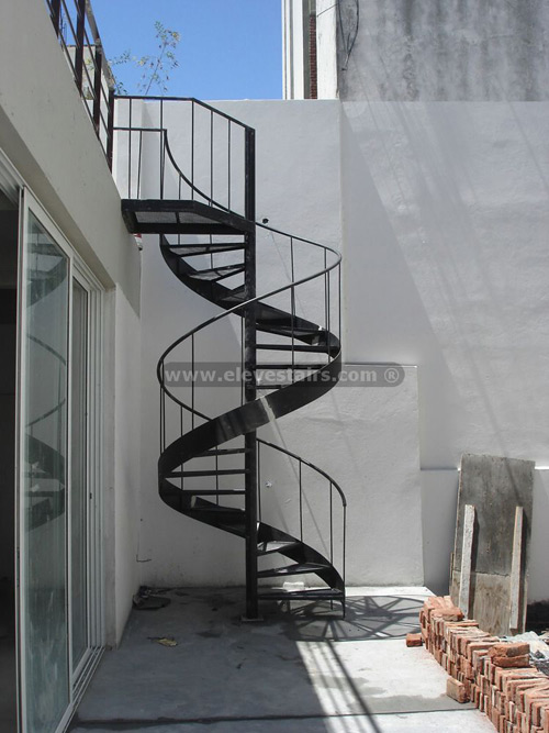 pre fab spiral stairs build blog