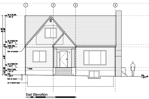 Straight Roof Line House Plans | Codixes.com