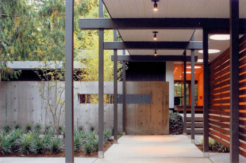 Modern Building Canopy : Residential entry canopies build