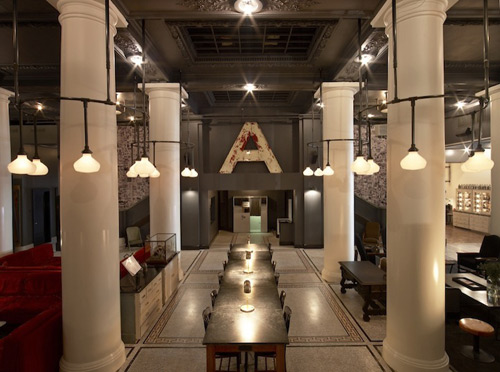 25 nyc must see spots for the design conscious build blog for Ace hotel chicago design