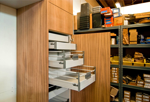 Innovations from the cabinet shop build blog for Cost to build a pantry