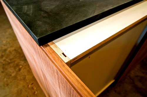 Countertop Edge Banding : Innovations from the Cabinet Shop BUILD Blog