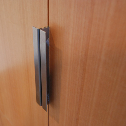 Door handles cabinet pulls build blog Fingertip design kitchen door handles
