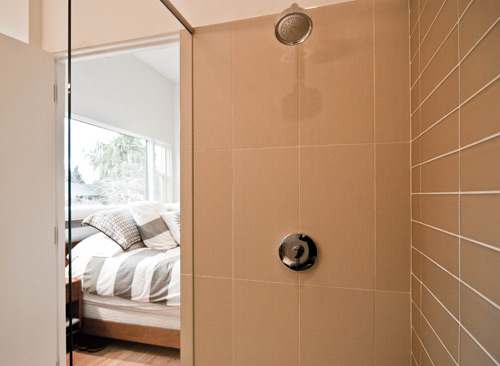 Keeping the character a mid century remodel build blog for Bathroom tiles vertical or horizontal