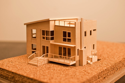 The value of handmade models build blog for Building model houses