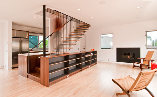 Modern stair design build blog modern stair design ppazfo