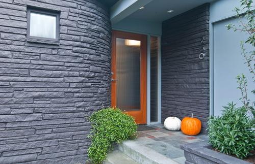 Single Front Doors With Glass the modern front door   build blog