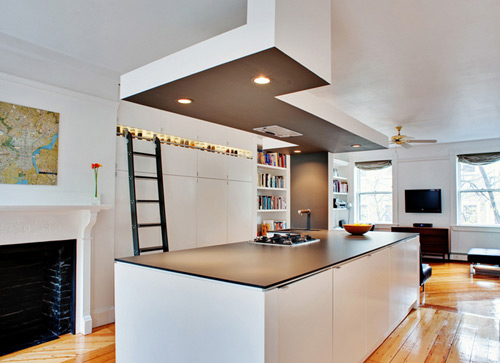Interior drop soffits build blog - Plafond de cuisine design ...