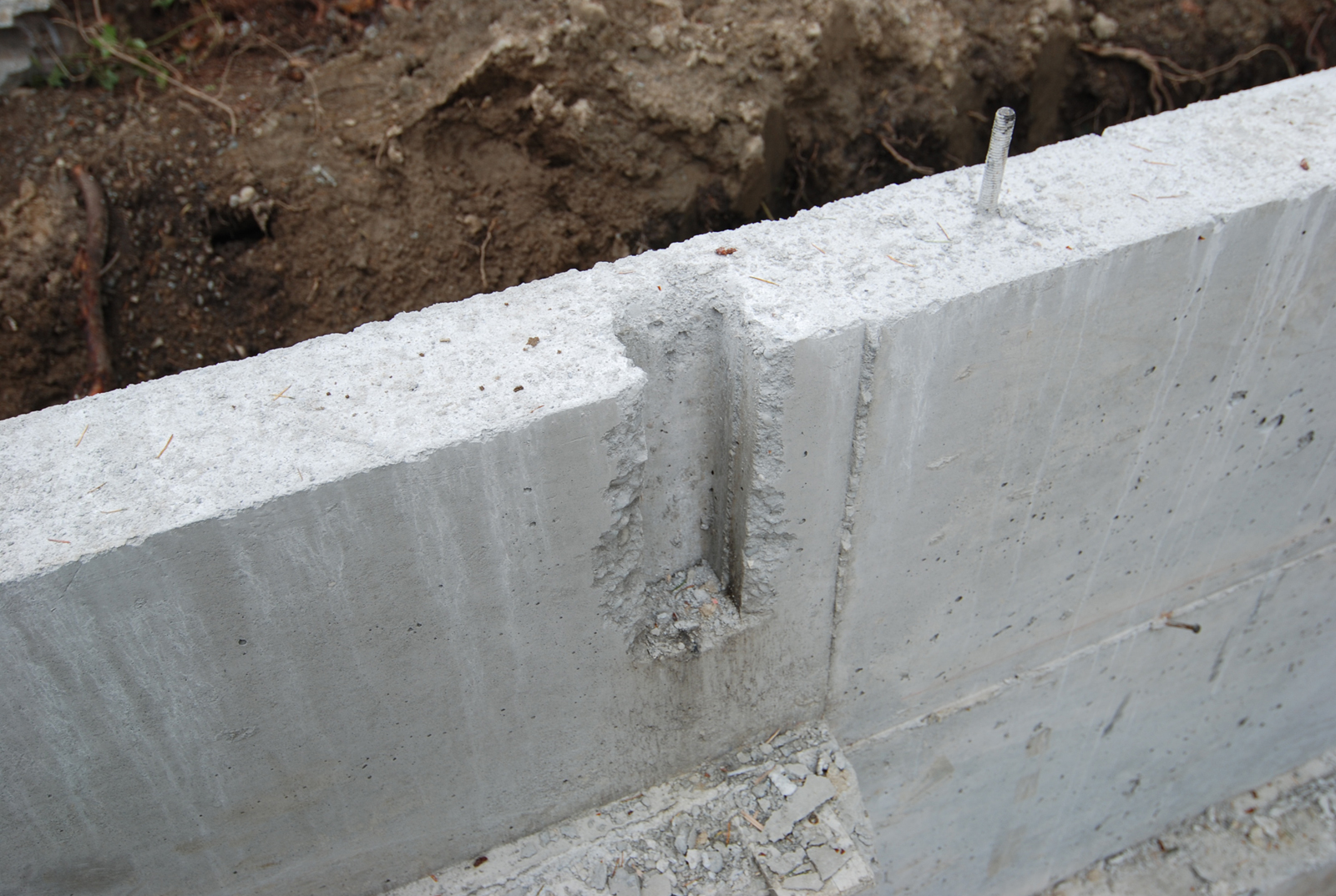 Case study house lessons in concrete plumbing build blog for How much does it cost to have a foundation poured