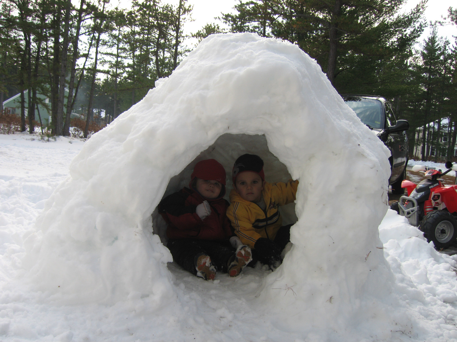 Snow Fort Architecture A Critical Analysis Build Blog