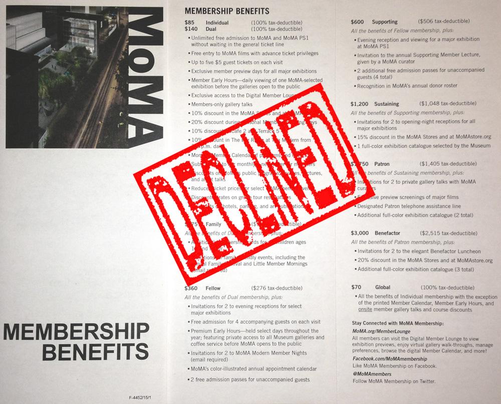 Membership-Declined