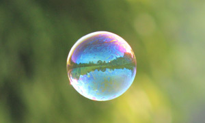 Bubble-featured