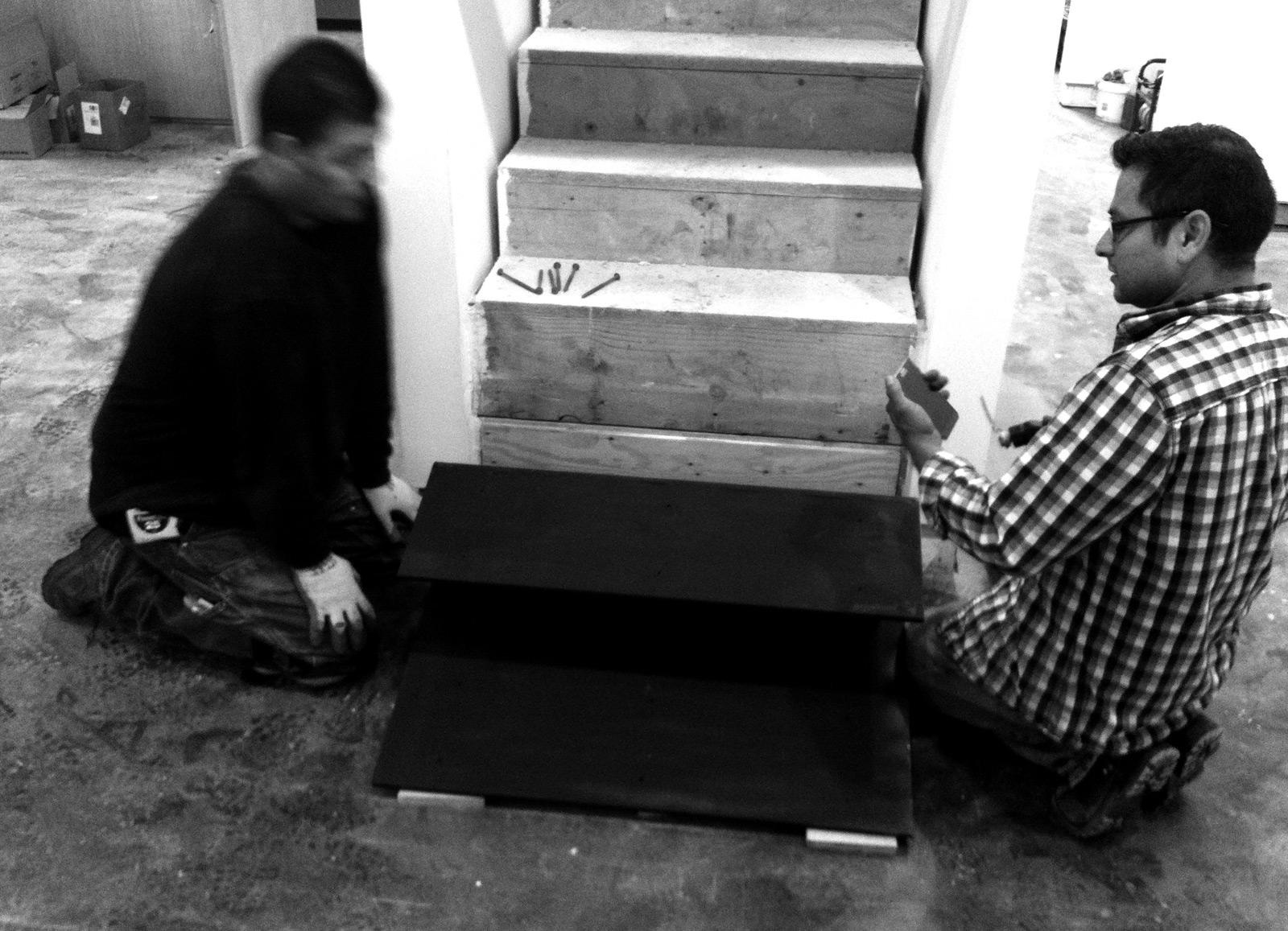 BUILD LLC stair install