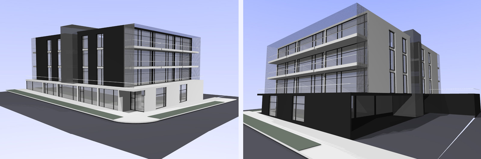 Front Elevation Design For Commercial Building : Front elevation examples for commercial buildings joy
