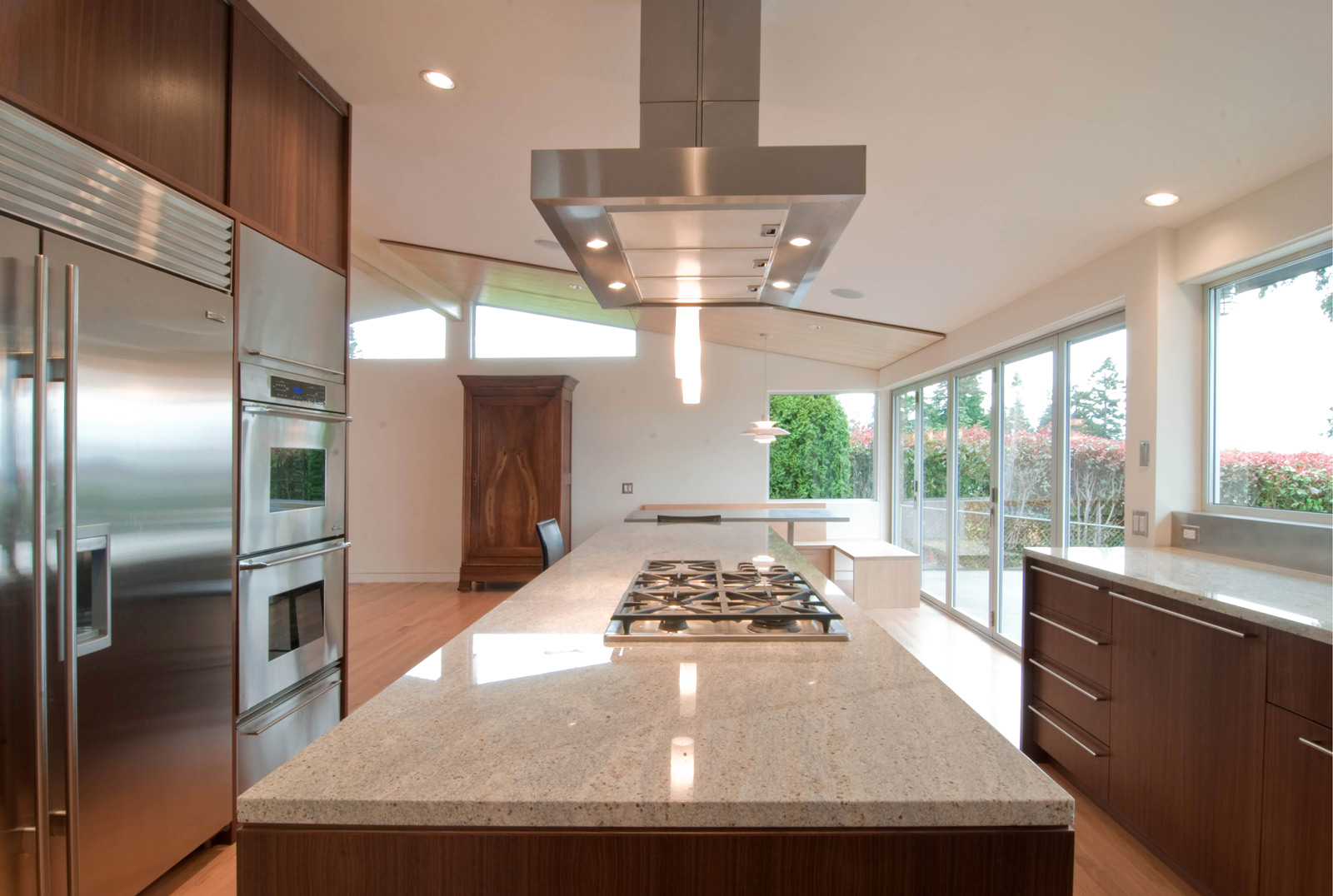 Kitchen Island Exhaust Fan design strategies for kitchen hood venting | build blog