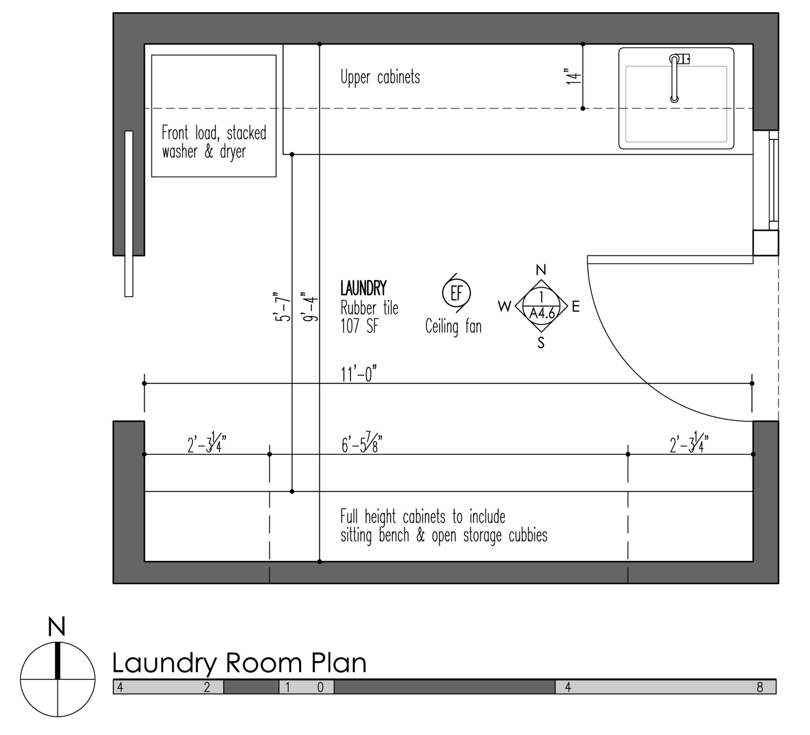 Mud Laundry Room Design Build Blog Table Fan Diagram Llc Innis Arden Plan