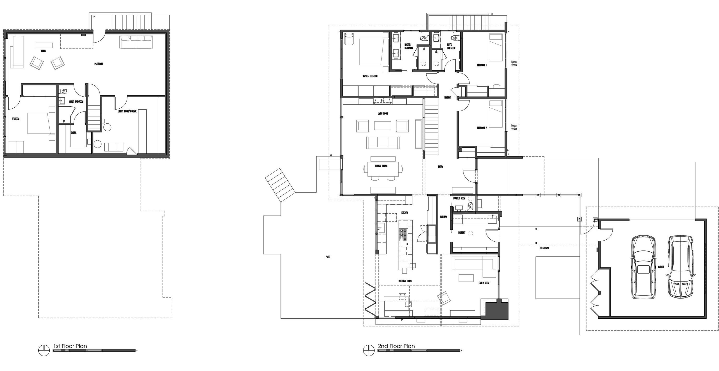 Program plan and square feet build blog Sauna floor plans