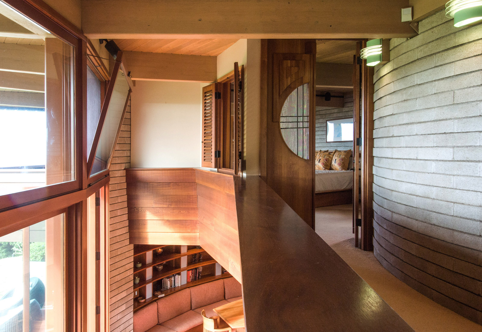 what we learned from staying in a frank lloyd wright build blog