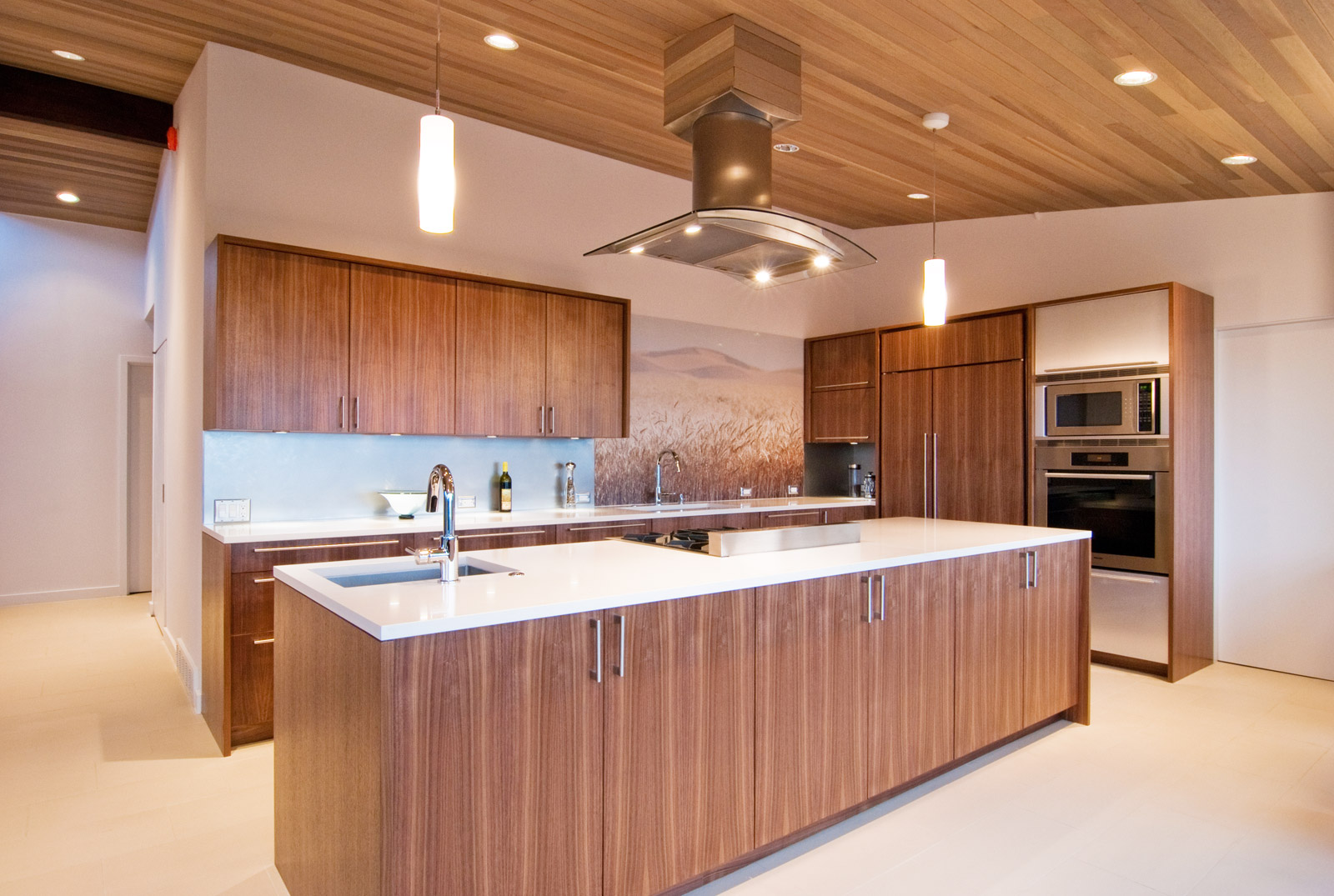 BUILD LLC OM Kitchen 01#. Concept: Appliance Island