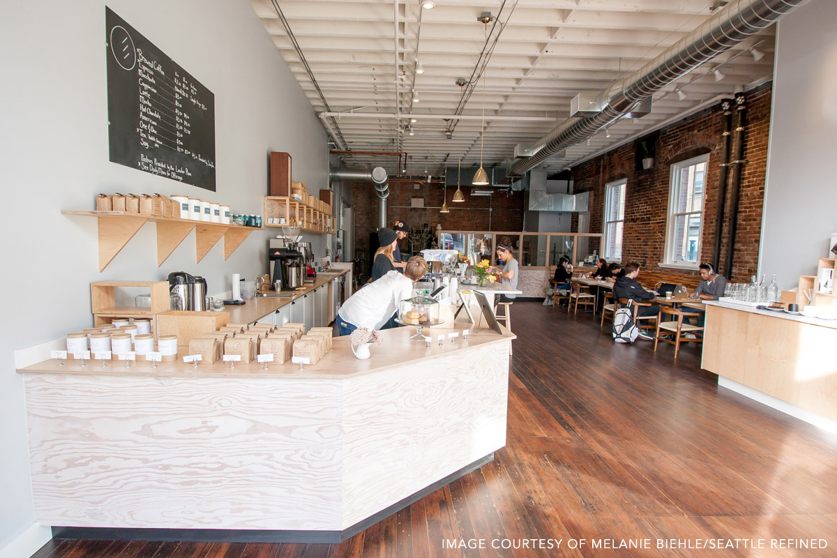 Elm Coffee Roasters by Melanie Biehle for Seattle Refined