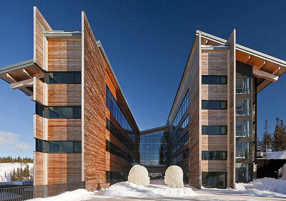 Design destinations for winter build blog for Mountain lodge architecture
