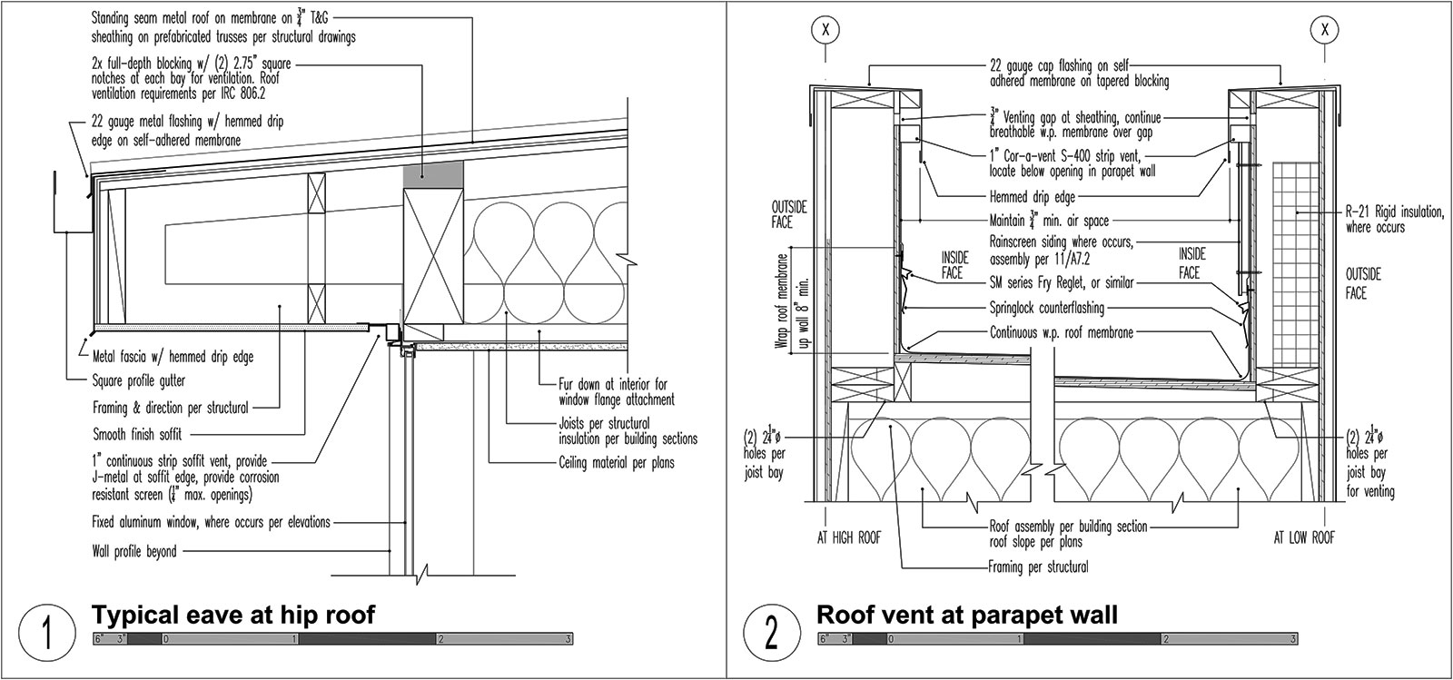 Three Structures Four Roof Types Build Blog