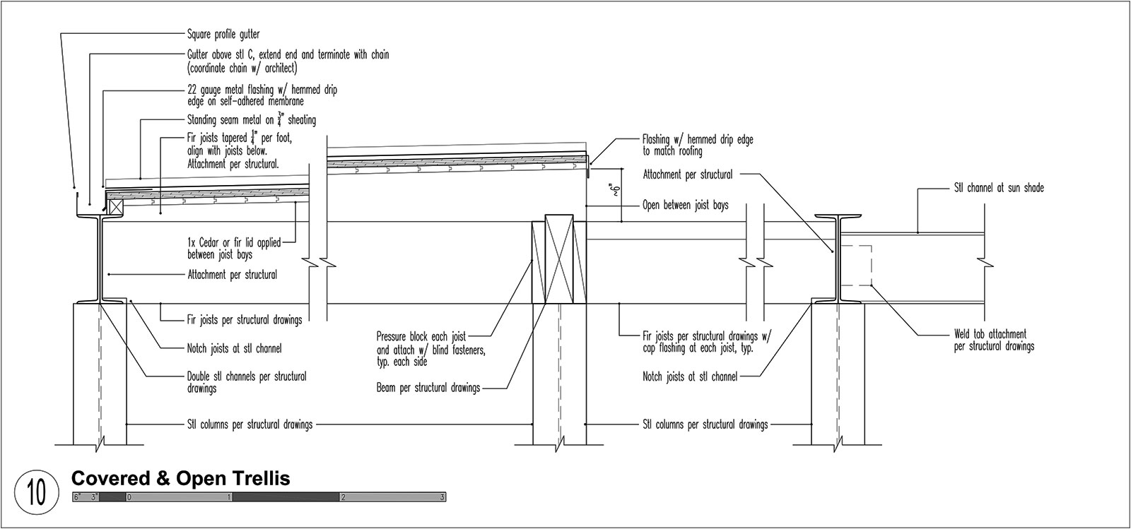 Three Structures, Four Roof Types | BUILD Blog